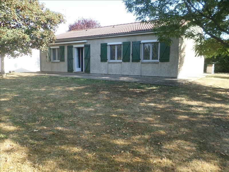 Vente maison / villa Lussac les chateaux 136000€ - Photo 1