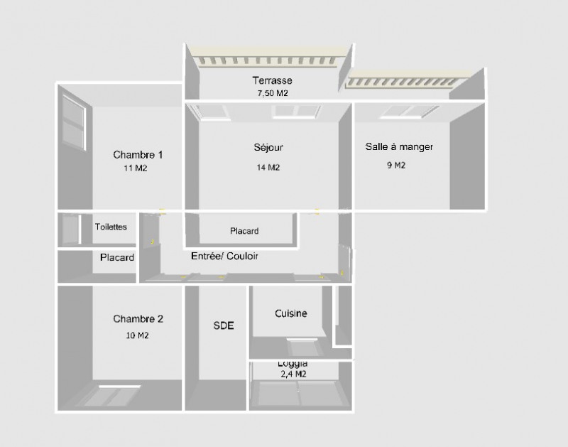 Vente appartement Nimes 135000€ - Photo 5
