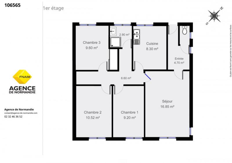 Sale house / villa La ferté-frênel 106500€ - Picture 10