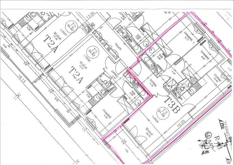 Sale apartment Les pavillons sous bois 199000€ - Picture 2