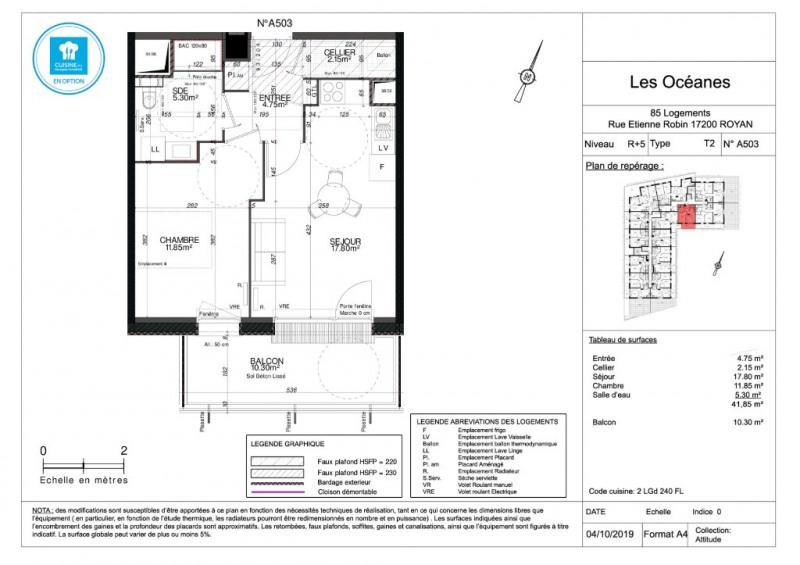 Sale apartment Royan 157000€ - Picture 4