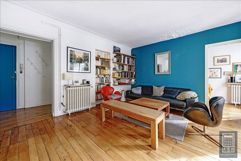 Deluxe sale apartment Paris 18ème 995 000€ - Picture 4