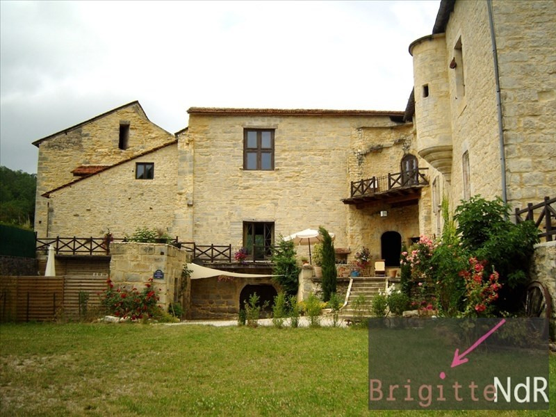 Vente de prestige château St chamarand 1050000€ - Photo 1