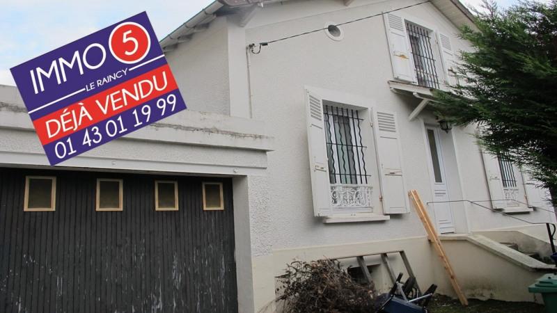 Vente maison / villa Le raincy 399000€ - Photo 1