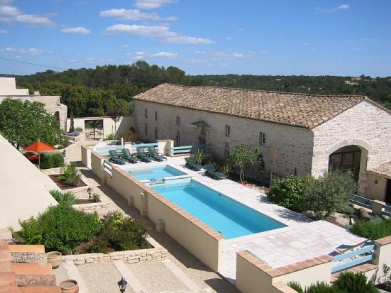 Immobile residenziali di prestigio casa Uzes 1590000€ - Fotografia 2