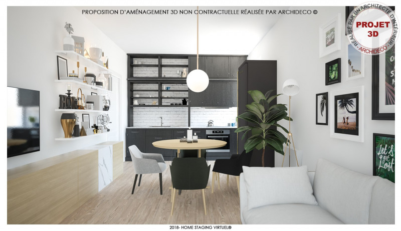 Vente maison / villa Bédarrides 79000€ - Photo 3