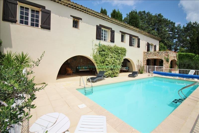 Vente de prestige maison / villa Peymeinade 820000€ - Photo 1