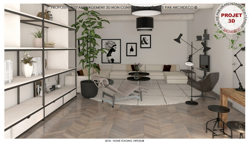 Vente maison / villa Althen des paluds 395000€ - Photo 5