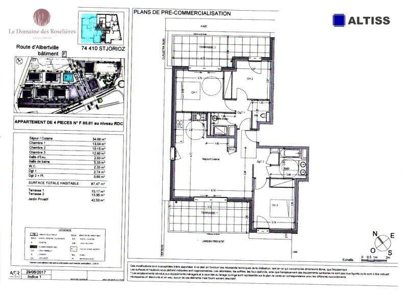 Sale apartment St jorioz 343000€ - Picture 2