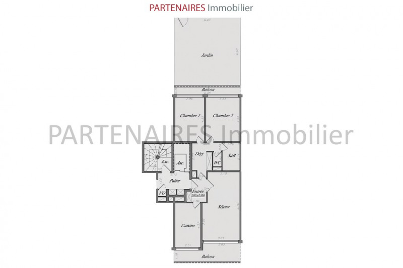 Vente appartement Le chesnay 425 000€ - Photo 3