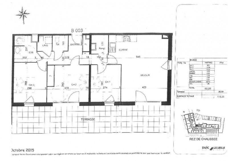 Sale apartment Auray 222800€ - Picture 4