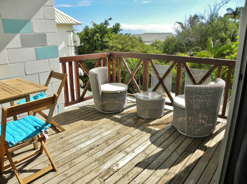 Vacation rental apartment La saline les bains 460€ - Picture 3