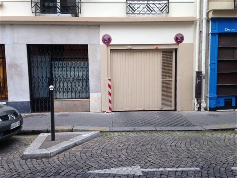 Location parking Paris 17ème 61€ CC - Photo 1