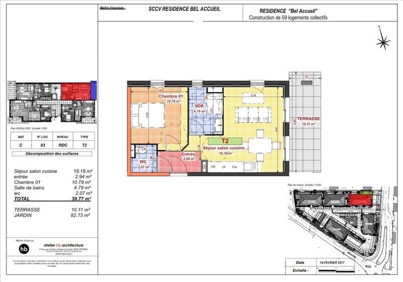 Sale apartment Bourgoin jallieu 109400€ - Picture 4