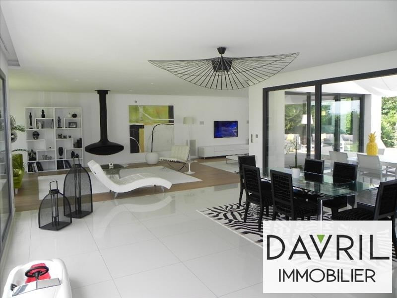 Deluxe sale house / villa Andresy 1 280 000€ - Picture 2