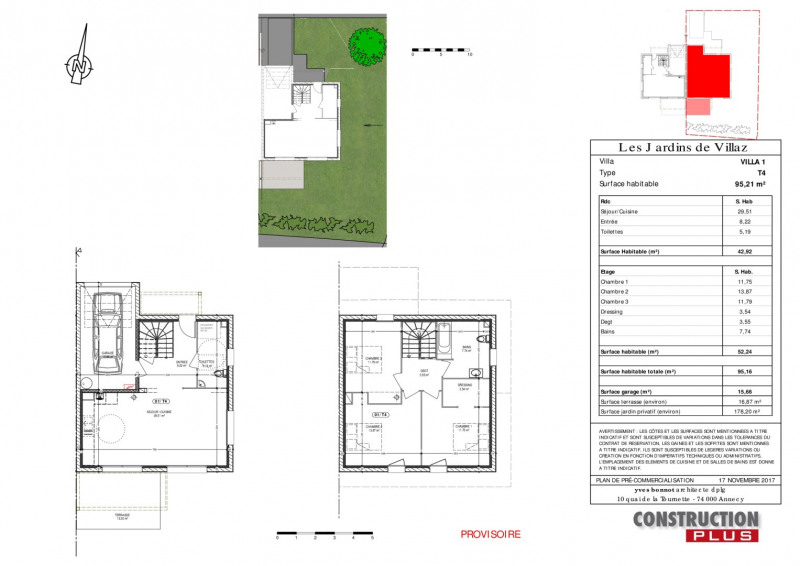 Sale house / villa Villaz 396000€ - Picture 4