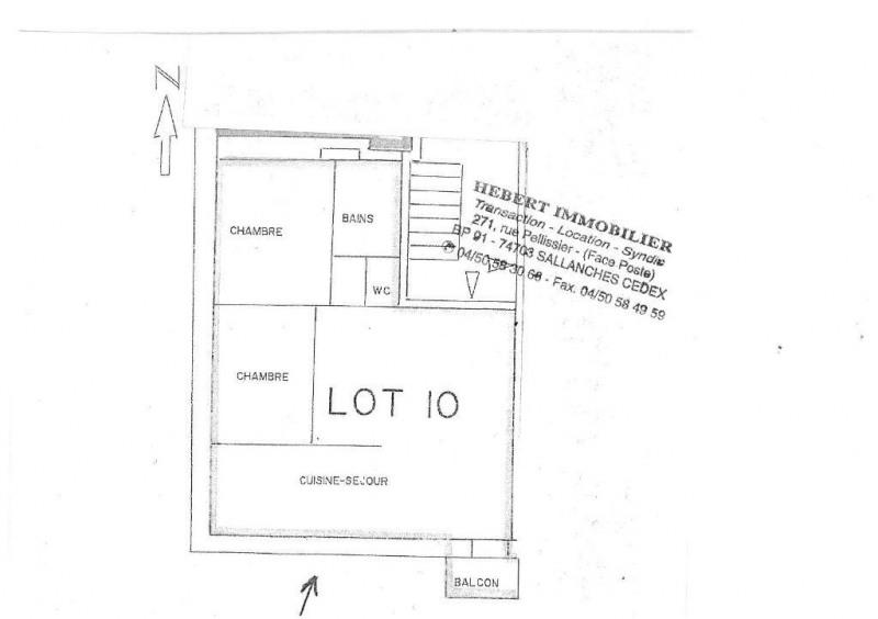 Vente appartement Le fayet 132000€ - Photo 7