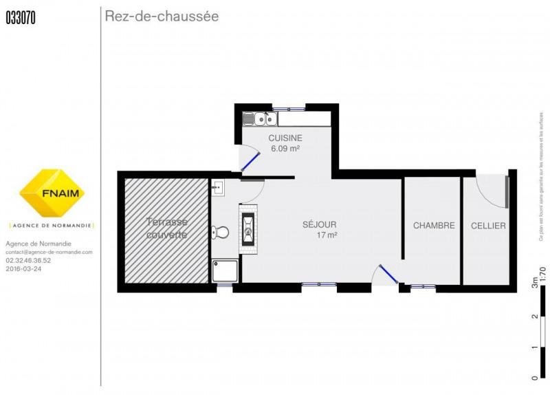 Vente maison / villa Montreuil-l'argille 28500€ - Photo 7