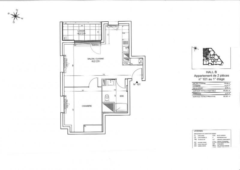 Vente appartement Nantes 182000€ - Photo 3