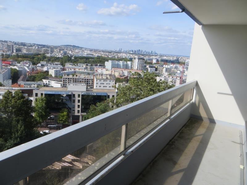 Rental apartment Issy les moulineaux 1384€ CC - Picture 1