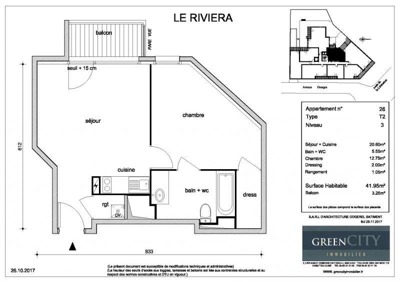 Location appartement Chennevieres sur marne 700€ CC - Photo 2