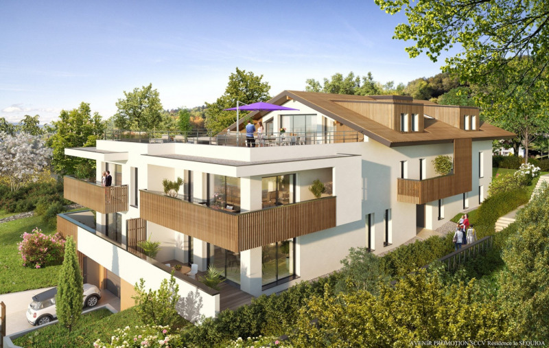 Vente de prestige appartement Monnetier mornex 680 000€ - Photo 1