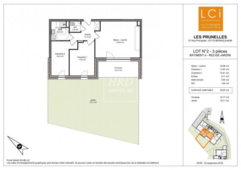Vente appartement Bernolsheim 200000€ - Photo 2