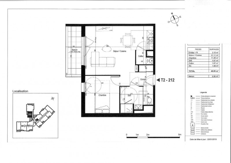 Vente appartement La rochelle 206000€ - Photo 3