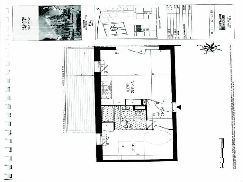 Rental apartment St etienne 539€ CC - Picture 2