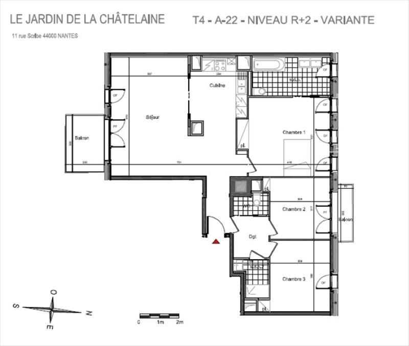 Vente appartement Nantes 415000€ - Photo 5