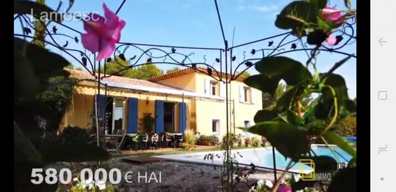 Venta  casa Lambesc 549000€ - Fotografía 1