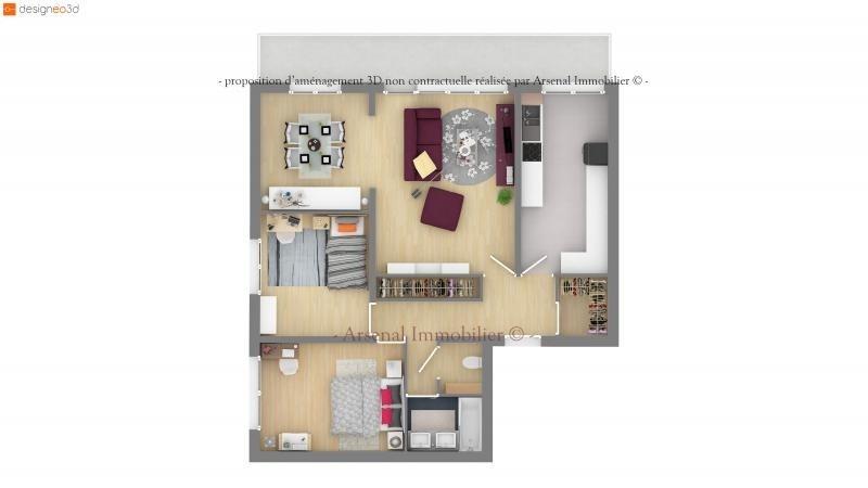 Venta  apartamento Metz 124900€ - Fotografía 2