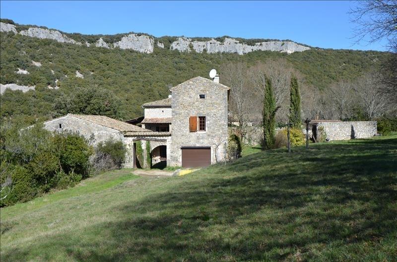 Vente de prestige maison / villa Vallon pont d arc 613600€ - Photo 1