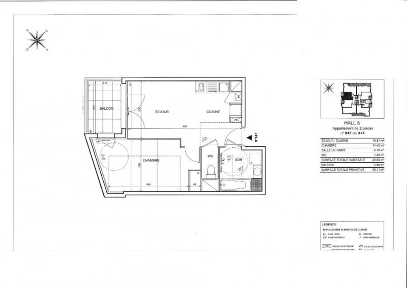 Sale apartment Toulouse 189000€ - Picture 3