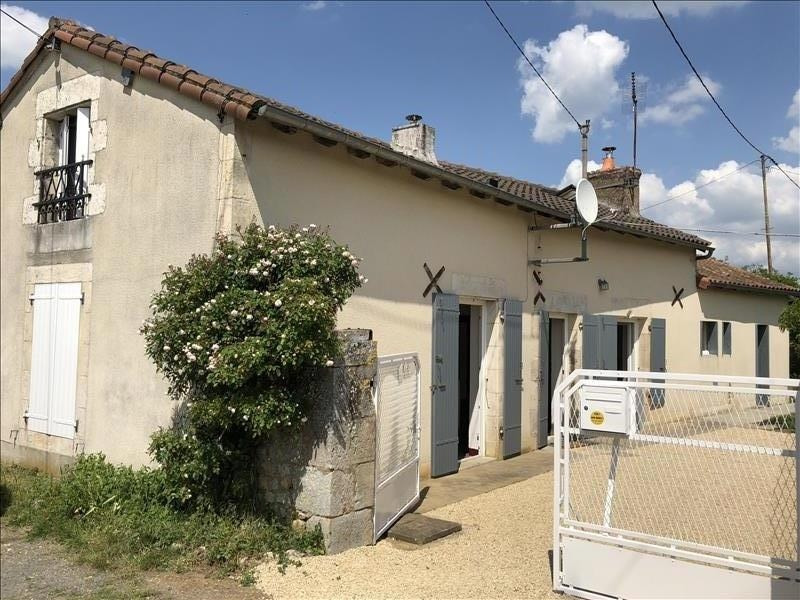 Vente maison / villa Bonnes 121 000€ - Photo 1