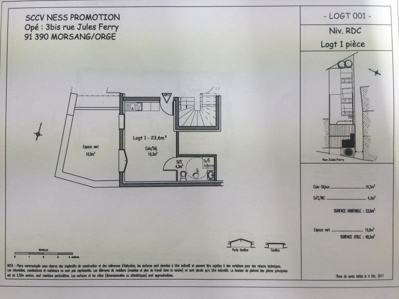 Sale apartment Morsang sur orge 124000€ - Picture 1