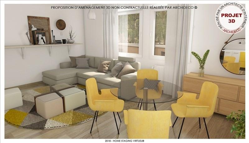Vendita appartamento Metz 125000€ - Fotografia 3
