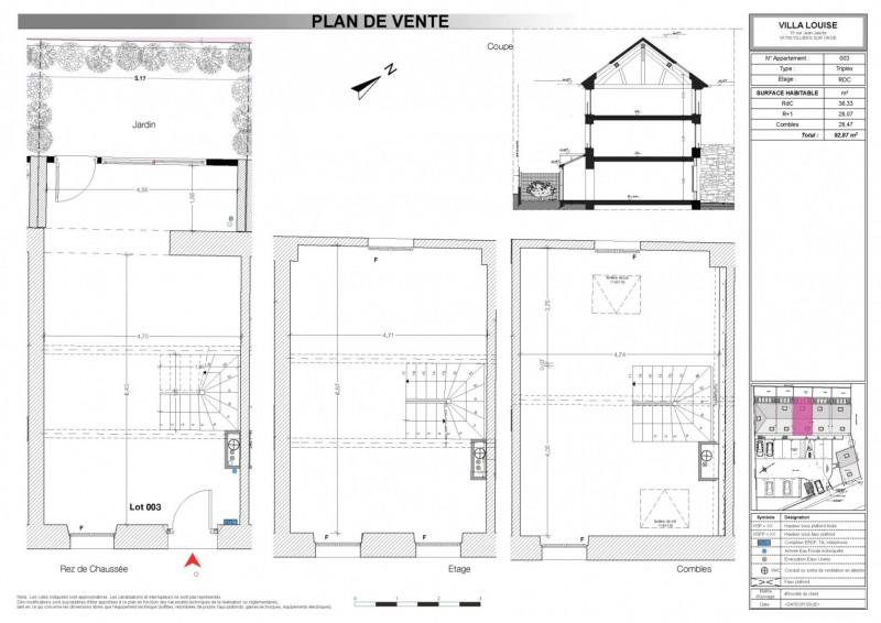 Venta  casa Villiers sur orge 211120€ - Fotografía 2