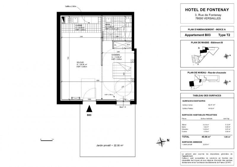 Produit d'investissement appartement Versailles 625640€ - Photo 2