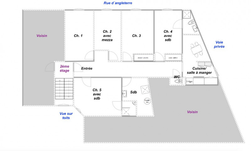 Investment property apartment Nice 340000€ - Picture 1