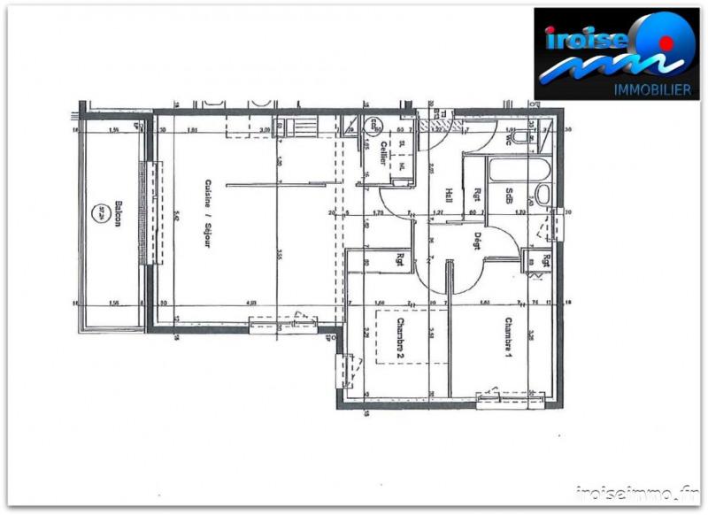 Sale apartment Brest 162750€ - Picture 3