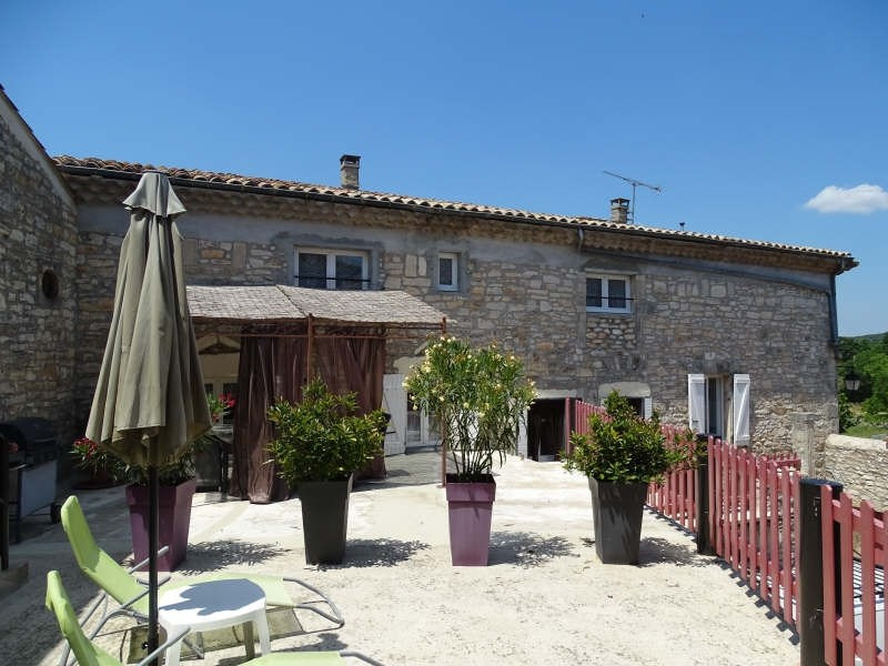 Venta  casa Barjac 475000€ - Fotografía 2