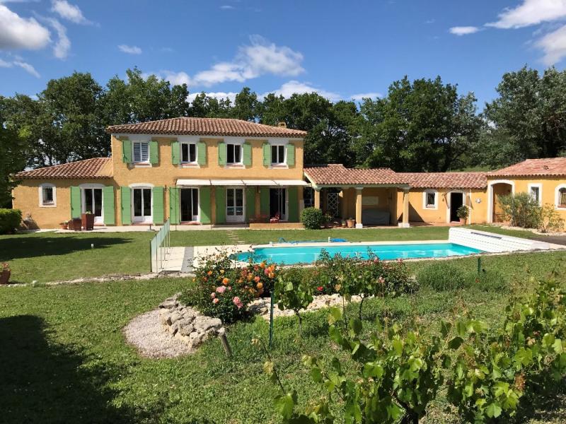 Deluxe sale house / villa Le puy ste reparade 828000€ - Picture 1