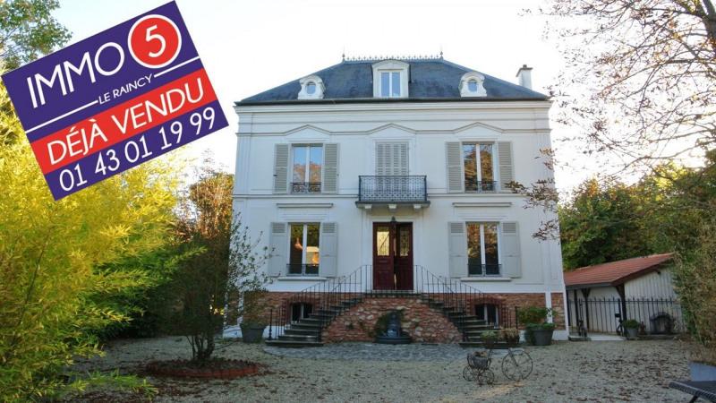 Sale house / villa Villemomble 980000€ - Picture 1