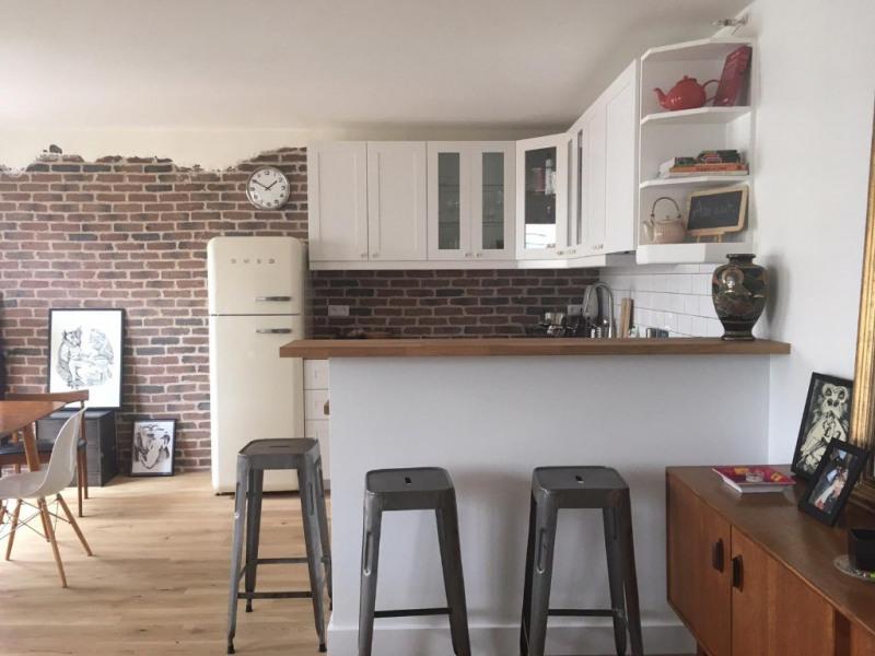 Rental apartment Paris 18ème 2500€ CC - Picture 2