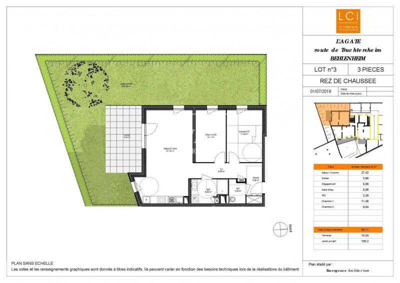 Sale apartment Truchtersheim 224000€ - Picture 1