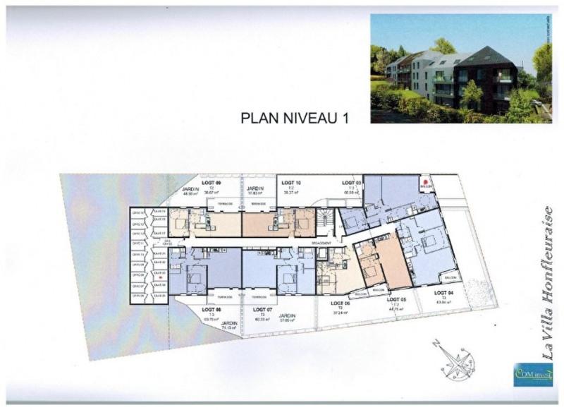 Vente appartement Honfleur 162750€ - Photo 4