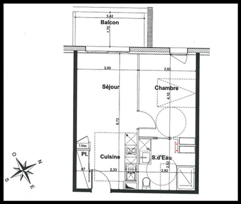 Appartement Le Teich 1 pièce (s) 36.66 m²