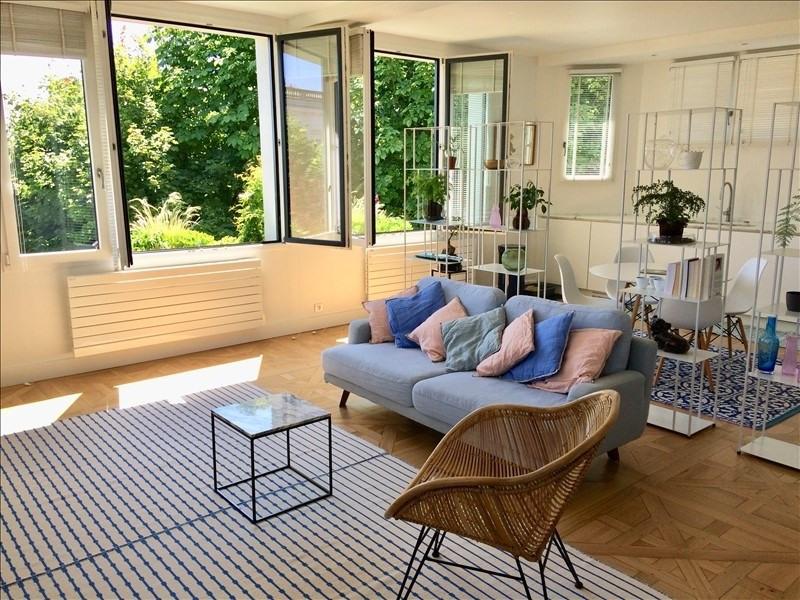 Deluxe sale apartment Saint-cloud 980000€ - Picture 2