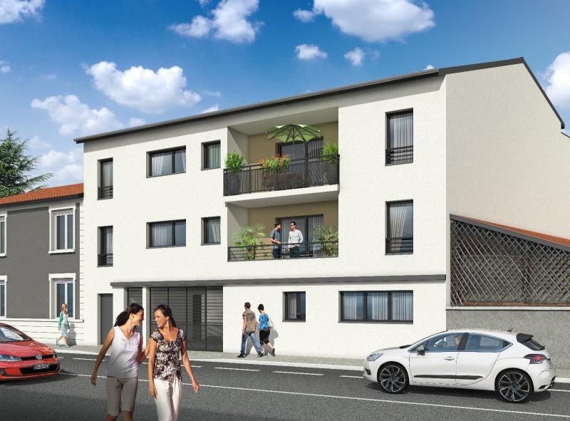 Appartement type 3 de 63m² avec terrasse à RILLIEUX (69140)